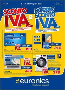 Offerte Elettronica e Informatica nella volantino di Euronics a Lissone ( Pubblicato ieri )