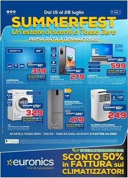 Offerte di Elettronica e Informatica nella volantino di Euronics ( Per altri 4 giorni)