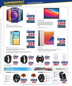 Offerte di Apple nella volantino di Euronics ( Scade oggi)