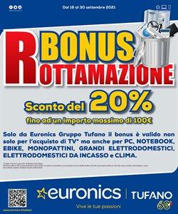 Offerte di Elettronica e Informatica nella volantino di Euronics ( Pubblicato ieri)
