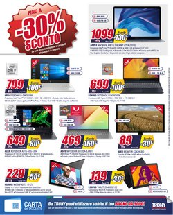 Offerte di Tablet a Trony