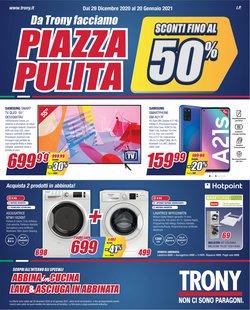 Offerte Elettronica e Informatica nella volantino di Trony a Cosenza ( Per altri 5 giorni )