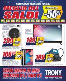 Offerte Elettronica e Informatica nella volantino di Trony a Schio ( Più di un mese )