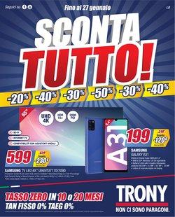 Offerte Elettronica e Informatica nella volantino di Trony a Settimo Torinese ( Per altri 3 giorni )