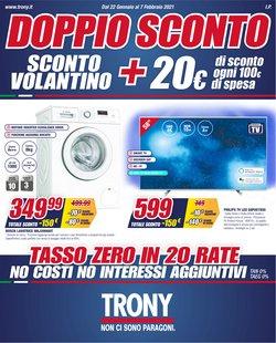 Offerte Elettronica e Informatica nella volantino di Trony a Latina ( Pubblicato ieri )