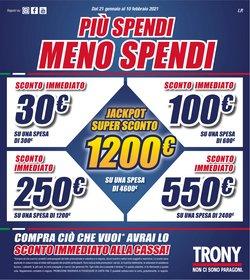 Offerte Elettronica e Informatica nella volantino di Trony a Padova ( 3  gg pubblicati )