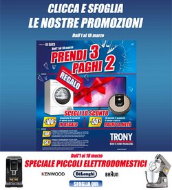 Offerte Elettronica e Informatica nella volantino di Trony a Senigallia ( Per altri 10 giorni )