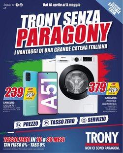 Offerte Elettronica e Informatica nella volantino di Trony a Parma ( Pubblicato ieri )