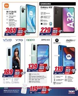 Offerte di Samsung nella volantino di Trony ( Pubblicato ieri)