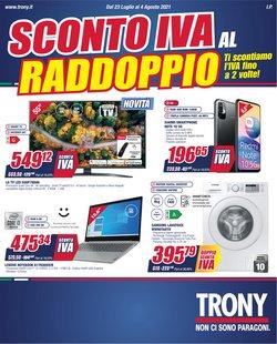 Offerte di Elettronica e Informatica nella volantino di Trony ( Per altri 3 giorni)