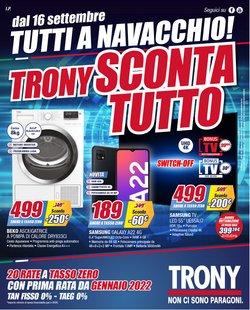 Offerte di Elettronica e Informatica nella volantino di Trony ( Per altri 14 giorni)