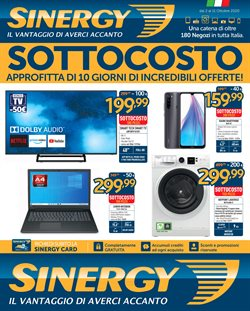 Catalogo Sinergy a Afragola ( Scaduto )