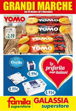 Offerte di Yogurt a Famila Superstore