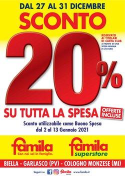 Catalogo Famila Superstore a Paderno Dugnano ( Scaduto )