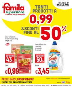Catalogo Famila Superstore a Verona ( 3  gg pubblicati )