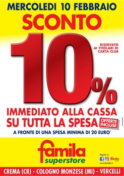 Catalogo Famila Superstore a Lissone ( Scaduto )