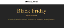 Coupon Michael Kors a Cefalù ( Scade oggi )