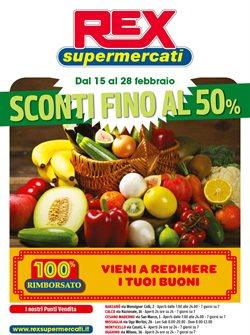 Offerte di Rex Supermercati nella volantino di Cesano Maderno