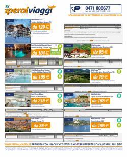 Offerte di Viaggi nella volantino di Iperal Viaggi ( Scade domani)