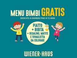 Offerte di Ristoranti nella volantino di WienerHaus ( Scade domani)