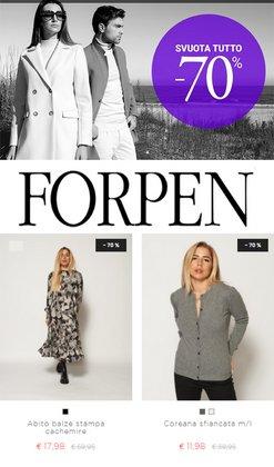 Offerte Abbigliamento, Scarpe e Accessori nella volantino di Forpen a Bassano del Grappa ( Pubblicato oggi )