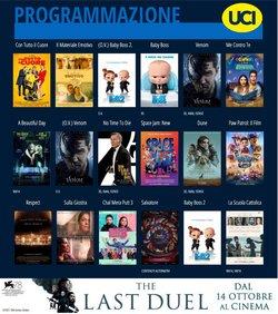 Offerte di Svago e Tempo Libero nella volantino di Uci Cinema ( Scade domani)
