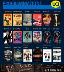 Offerte di Svago e Tempo Libero nella volantino di Uci Cinema ( Pubblicato ieri)