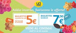 Offerte di Uci Cinema nella volantino di Bologna