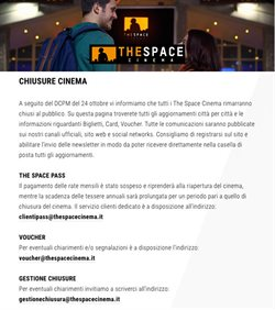 Catalogo The Space Cinema a Pradamano ( Scade domani )
