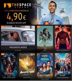 Offerte di Svago e Tempo Libero nella volantino di The Space Cinema ( Pubblicato ieri)