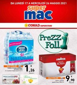 Offerte di Supermac Supermercati nella volantino di Supermac Supermercati ( Scaduto)