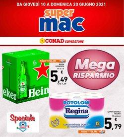 Offerte di Supermac Supermercati nella volantino di Supermac Supermercati ( Per altri 6 giorni)