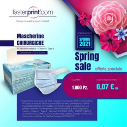 Offerte Infanzia e Giocattoli nella volantino di Fasterprint a Treviso ( Pubblicato ieri )