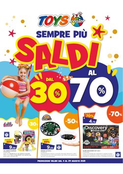 Offerte di Infanzia e Giocattoli nella volantino di Toys Center ( Pubblicato oggi)
