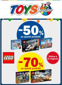 Offerte di Toys Center nella volantino di Pesaro