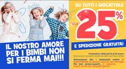 Coupon Toys Center a Novara ( Per altri 3 giorni )