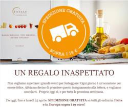 Offerte Caffetterie, ristoranti e pizzerie nella volantino di Eataly a Roma