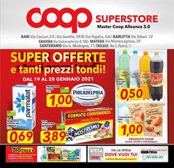 Offerte di Latte parzialmente scremato a Coop Superstore