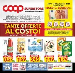 Offerte di Coop Superstore nella volantino di Coop Superstore ( Per altri 10 giorni)