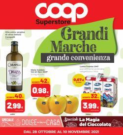 Offerte di Iper Supermercati nella volantino di Coop Superstore ( Pubblicato ieri)