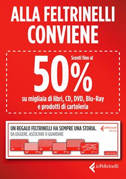 Offerte Libreria e Cartoleria nella volantino di La Feltrinelli a Brescia ( Per altri 8 giorni )