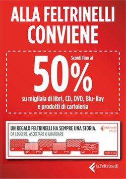 Offerte di Libreria e Cartoleria nella volantino di La Feltrinelli ( Per altri 9 giorni)