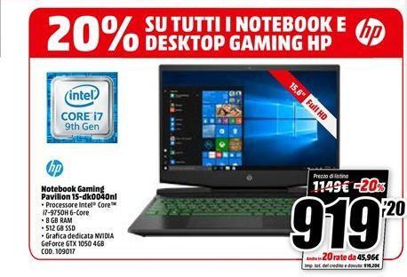 Offerta per Notebook gaming pavilion  a 919.2€