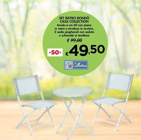 Offerta per Set bistro rondò casa collection a 49,5€