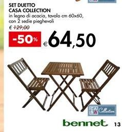 Offerta per Set duetto casa collection a 64,5€