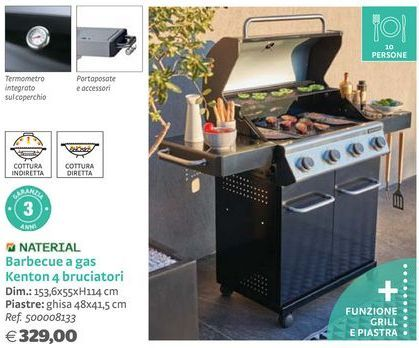 Offerta per Barbecue a gas a