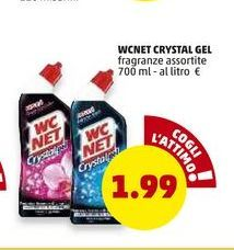 Offerta per WC Net crystal gel a 1,99€