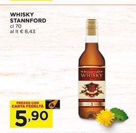 Offerta per Whisky stannord a 5,9€
