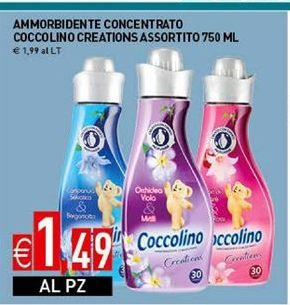 Offerta per Ammorbidente concentrato coccolino creations assortito 750 ml a 1,49€
