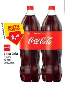 Offerta per Coca-Cola regular a 2,49€